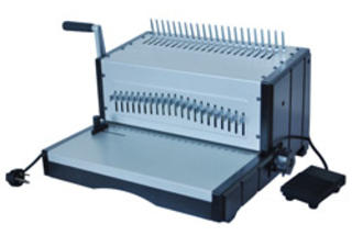 Deluxe 21E Electric Binding Machine