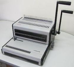 Luxedual 2440 Wire/Comb Manual Binder